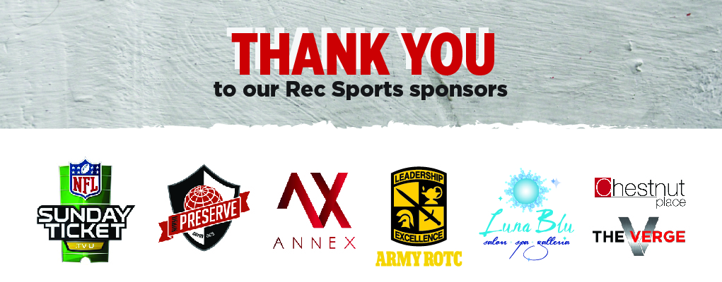 Thank you sponsors
