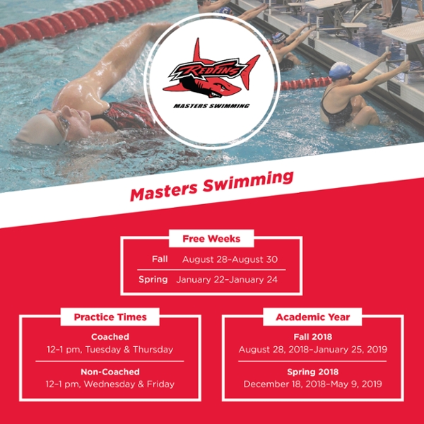 Achieve your swimming & fitness goals with Masters Swimming!