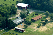 aerial photo of Ecology Research Center
