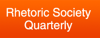 logo image for Rhetorical Society Quarterly