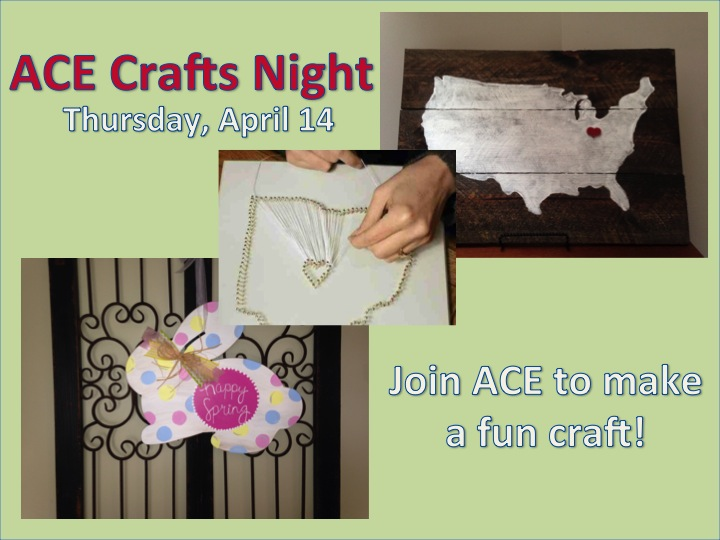ACE Crafts night