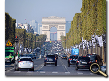 enlarged photo of Arch de Triomphe