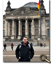 enlarged photo of Christopher Beecroft in Germany