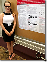 enlarged photo of Tiffany Campbell at research forum