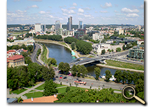 enlarged photo of Vilnius, Lithuania