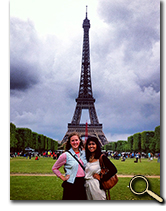 enlarged photo of Neena Patel in France