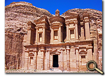 enlarged photo of Petra, Jordan