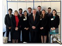 enlarged photo of Lockheed Martin Leadership Institute group