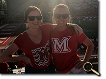 enlarged photo of Amanda Ryerse and friend