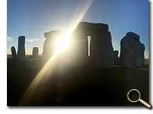 enlarged photo of Stonehenge