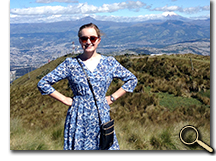 enlarged photo of Emily Tatum in Ecuador