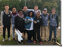enlarged photo of Make a Difference Day volunteers