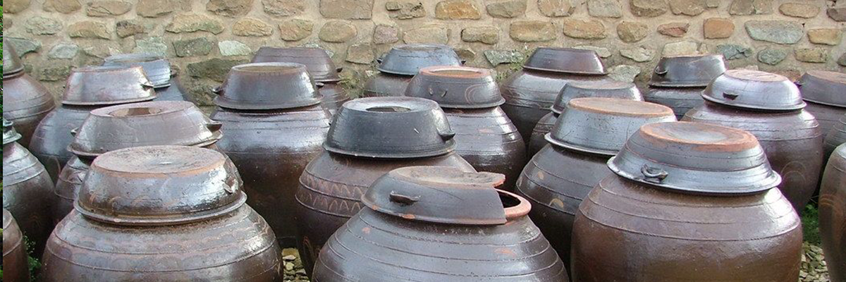 Clay Pots Used For Kimchi