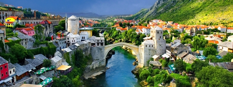 A beautiful bridge in Bosnia.