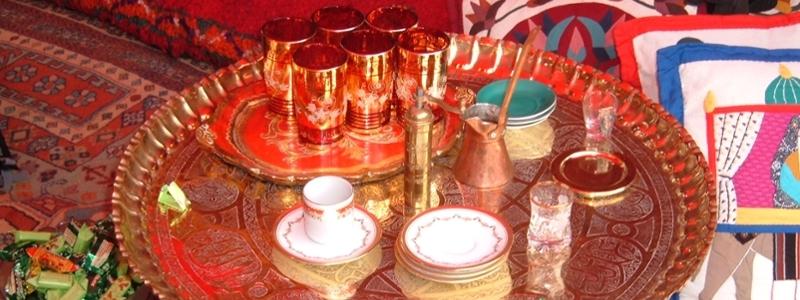 A presentation of tea on Silk Road.