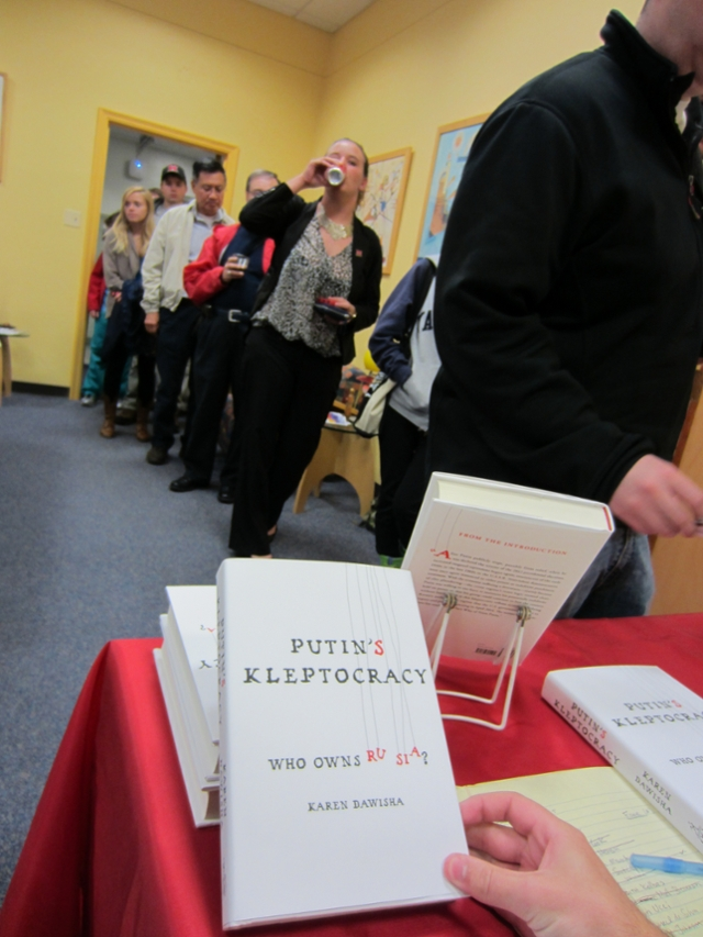 Lecture and Book Signing for Putin's Kleptocracy