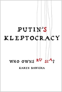 The cover of Putin's Kleptocracy