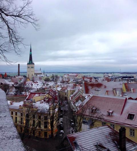 Estonia cityscape