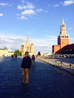 Drake Braun on study abroad in Russia.