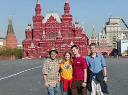Students abroad in Russia