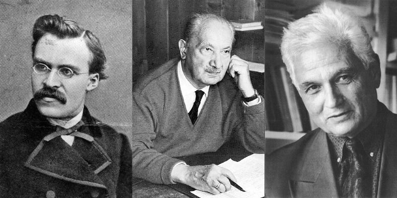Nietzsche/Heidegger/Derrida