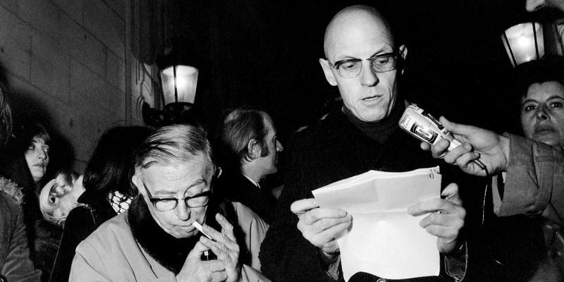 Sartre Deleuze Foucault