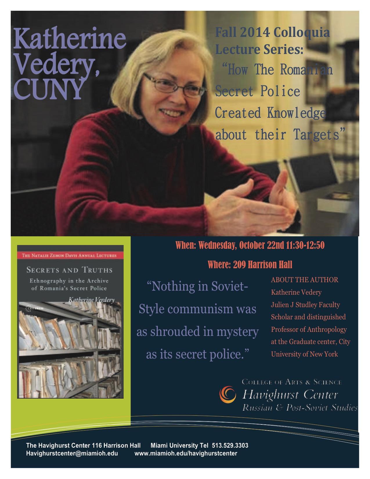 Katherine Vedery