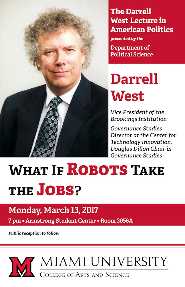 Darrell West Lecture Spring 2017