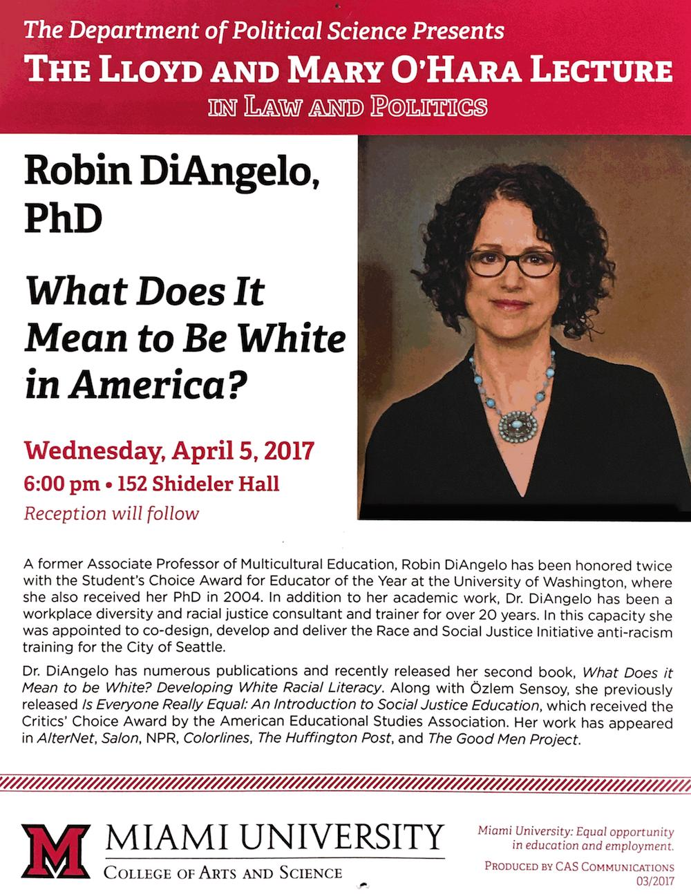 O'Hara Lecture