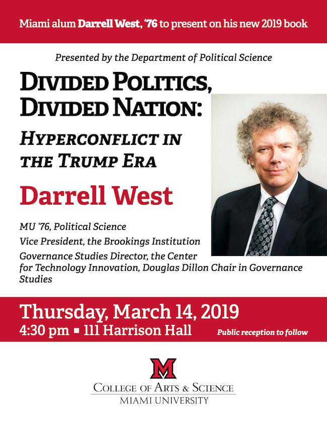 West Lecture on March 14