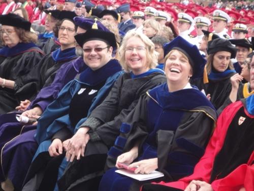 Professors at Graduation