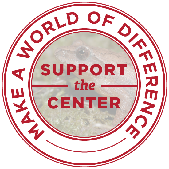 Make a world of difference. Support the Center