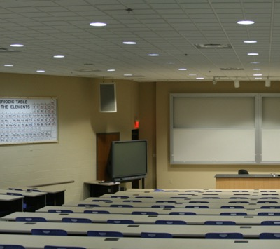 100 Hughes Laboratories Lecture hall