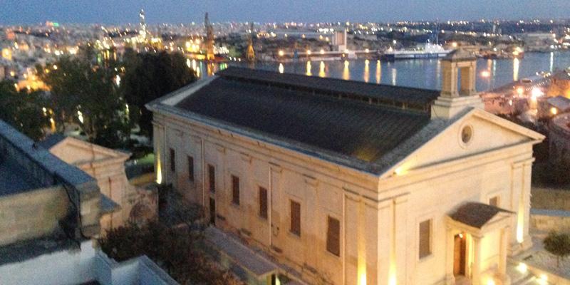rooftops in Malta