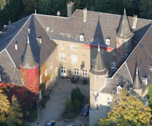 Aerial view of the Dolibois European Center, Luxembourg