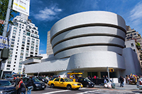 Exterior of Guggenheim Museum, New York