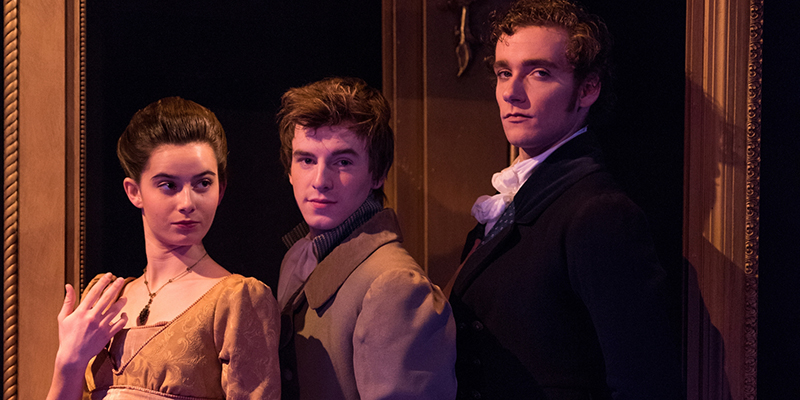 an image from Miami Theatres production of Pride and Prejudice