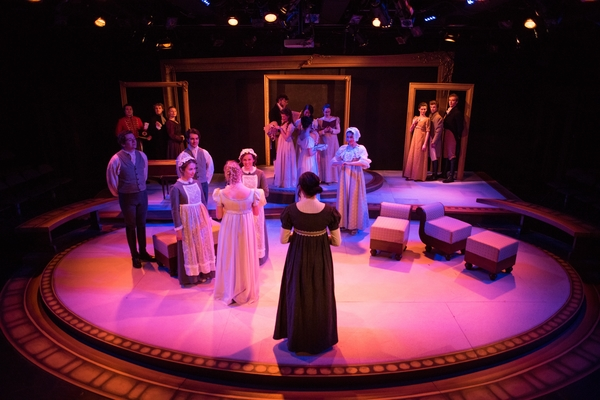 A production of Pride and Prejudice in the Studio Theatre