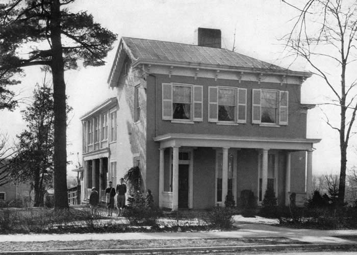 McGuffey House in 1928