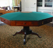 McGuffey's octagonal table, possibly where he wrote the first 4 Readers