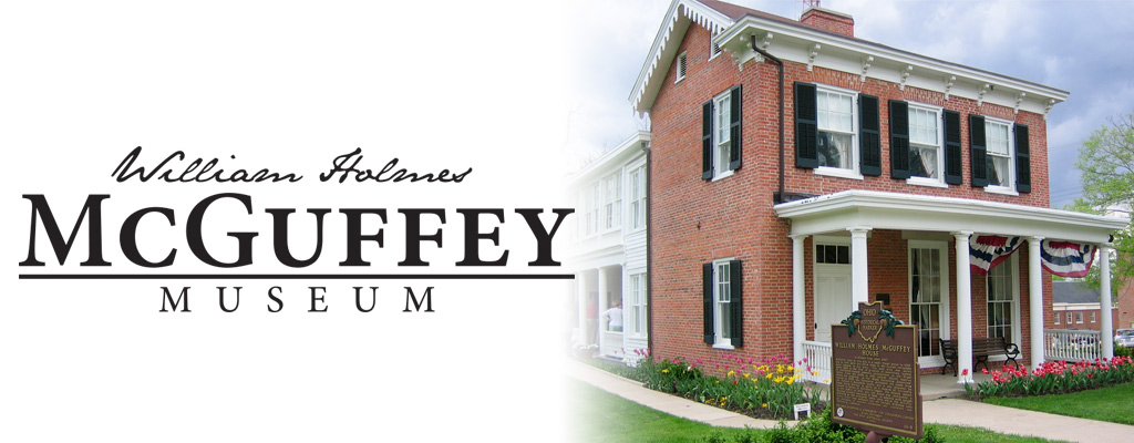 McGuffey House with William Holmes McGuffey Museum wordmark