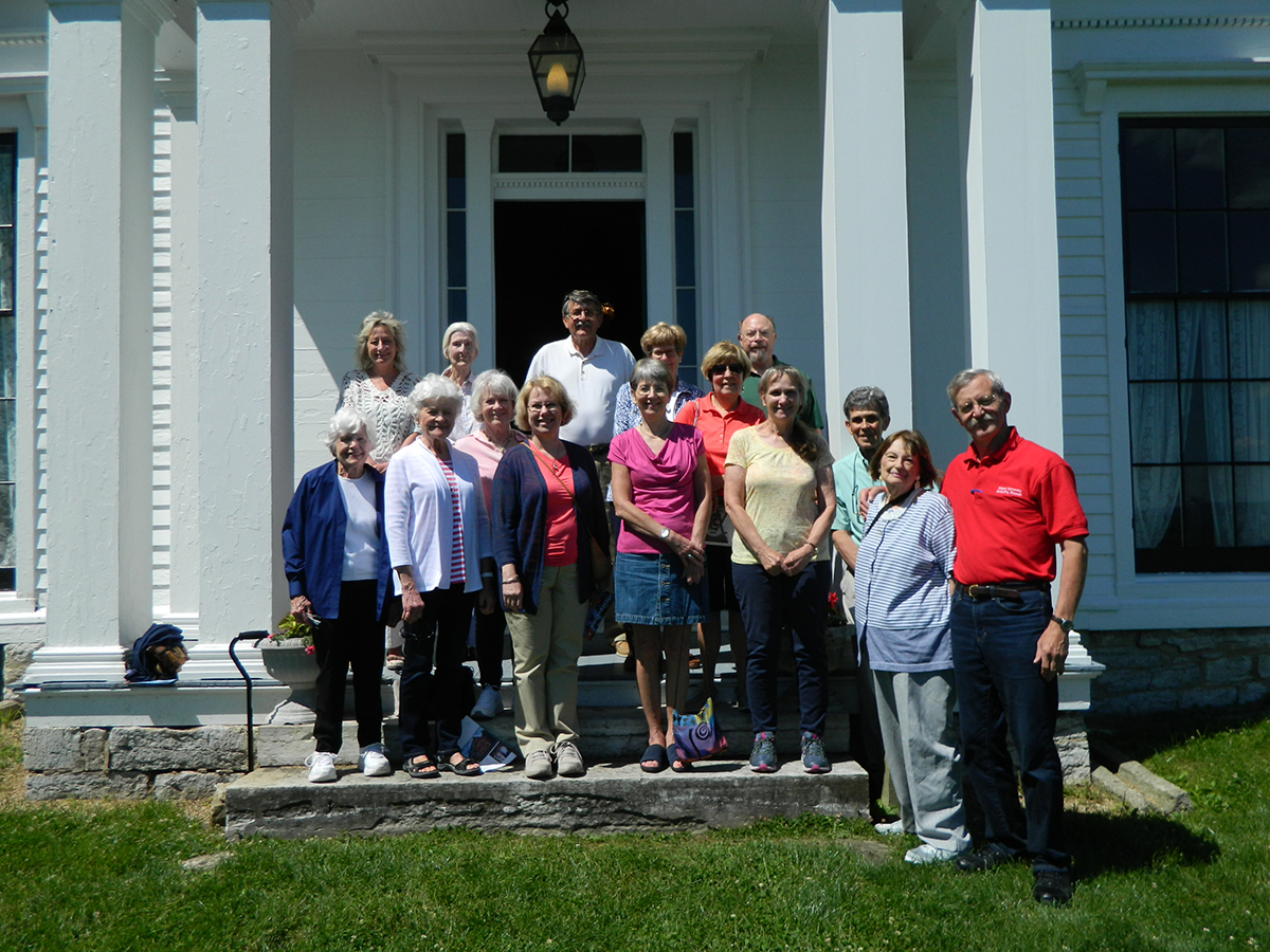 Group photo, McGuffey Field Trip