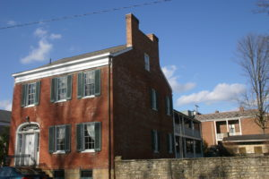 Exterior of Jeremiah Sullivan House