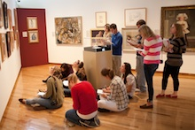 Students in Gallery 4