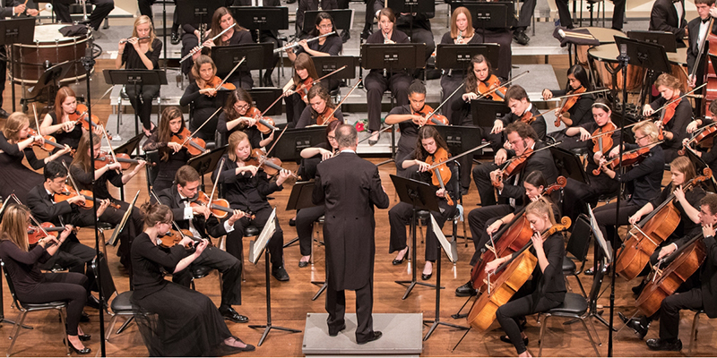 Symphony Orchestra in concert