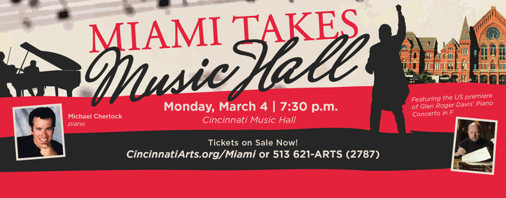 Miami Takes Music Hall banner