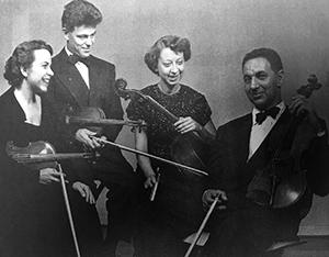 The original Oxford String Quartet