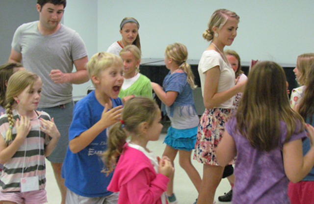 Missoula Children's Theatre Drama Camp