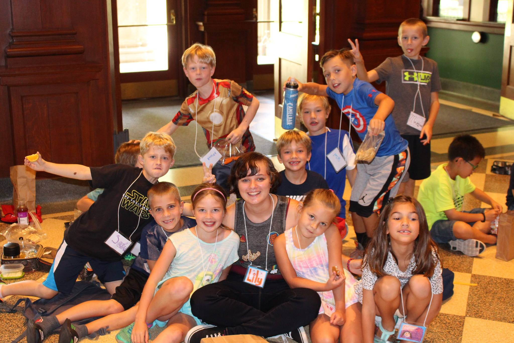 Missoula Children's Theater Drama Camp group shot