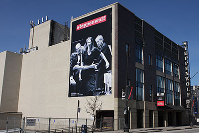Exterior of Steppenwolf Theatre, Chicago